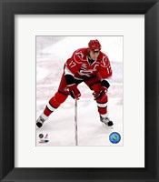 Framed Rod Brind'Amour 2007-08 Action
