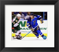 Framed Brad Boyes 2007-08 Action