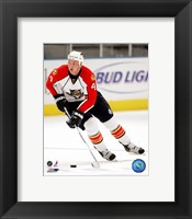 Framed Jason Bouwmeester 2007-08 Action