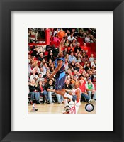 Framed Josh Howard 2007-08 Action