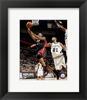 Framed Udonis Haslem 2007-08 Action
