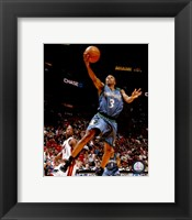 Framed Sebastian Telfair 2007-08 Action