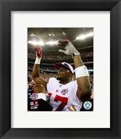 Framed Plaxico Burress SuperBowl XLII 2007 Celebration #19