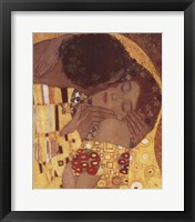 Framed Kiss, c.1908 (detail)