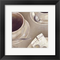 Framed Double Espresso