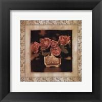 Framed English Rose I