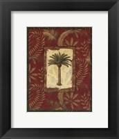 Framed Exotica Palm II - Mini