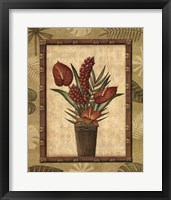 Paradisio Bouquet I Framed Print