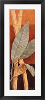 Bali Leaves I Framed Print