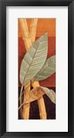 Bali Leaves I - mini Framed Print