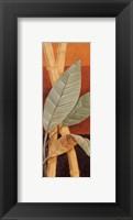 Bali Leaves I - petite Framed Print