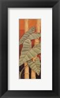 Bali Leaves II - petite Framed Print