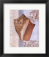 Beachhouse Blue I Framed Print
