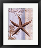 Beachhouse Blue IV Framed Print