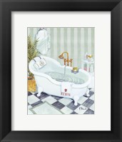Claw Tub - mini Framed Print