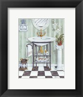 Wash Basin - mini Framed Print