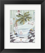 Slipper Tub - mini Framed Print