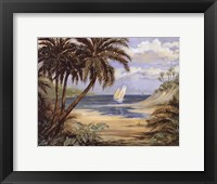 Palm Bay - mini Framed Print