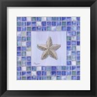Framed Mosaic Starfish