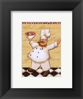 Le Chef et les Fruits - mini Framed Print