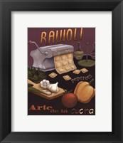 Framed Ravioli