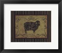 Framed le Mouton