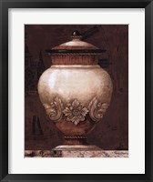Timeless Urn I Framed Print