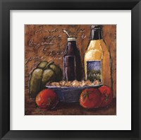 Rustic Kitchen IV Framed Print