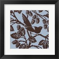 Bird Song III Framed Print