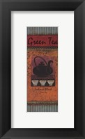 Green Tea - petite Framed Print