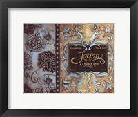 Lotion de Paris Framed Print