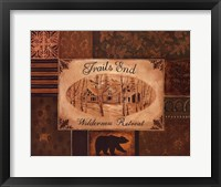 Trails End Framed Print