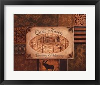 Quiet Haven Framed Print