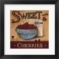 Framed Sweet Cherries