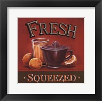 Fresh Squeezed Framed Print