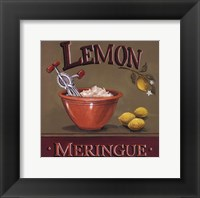 Lemon Meringue - Mini Framed Print