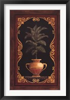 Golden Cocos Framed Print