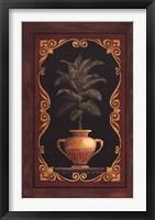 Golden Cocos Framed Print