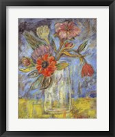 Framed Lyrical Blooms - mini