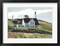 Framed Hill and Houses, Cape Elizabeth, Maine, 1927