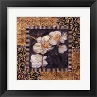 Framed Javanese Orchid I