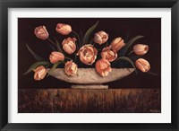 Framed Elegant Tulips