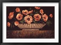 Framed Elegant Poppies