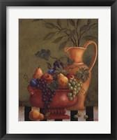Fresco Fruit II Framed Print