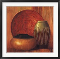 Framed Ceramic Study II