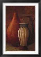 Exotic Vessels I Framed Print