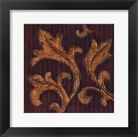 Gold Acanthus II Framed Print