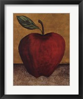 Framed Apple