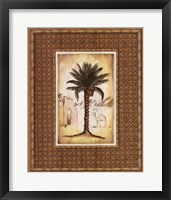 South Palm I Framed Print