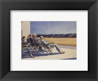 Framed People in the Sun